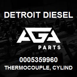 0005359960 Detroit Diesel Thermocouple, Cylinder Exh., Type K | AGA Parts