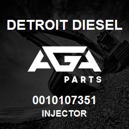 0010107351 Detroit Diesel Injector | AGA Parts