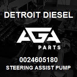 0024605180 Detroit Diesel Steering Assist Pump | AGA Parts