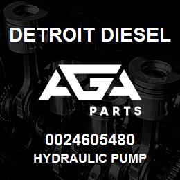 0024605480 Detroit Diesel Hydraulic Pump | AGA Parts