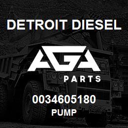0034605180 Detroit Diesel Pump | AGA Parts