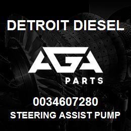 0034607280 Detroit Diesel Steering Assist Pump | AGA Parts