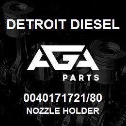 0040171721/80 Detroit Diesel Nozzle Holder | AGA Parts