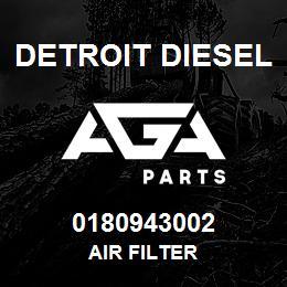 0180943002 Detroit Diesel Air Filter | AGA Parts