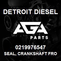 0219976547 Detroit Diesel Seal, Crankshaft Front, Aux. | AGA Parts