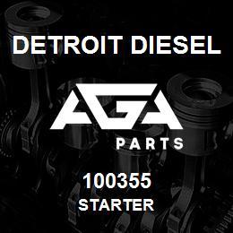 100355 Detroit Diesel Starter | AGA Parts