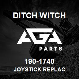 190-1740 Ditch Witch JOYSTICK REPLAC | AGA Parts