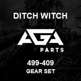 499-409 Ditch Witch GEAR SET | AGA Parts