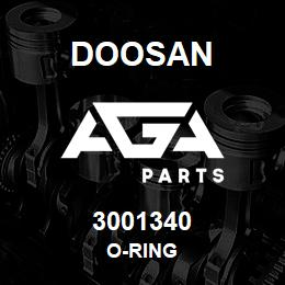 3001340 Doosan O-RING | AGA Parts