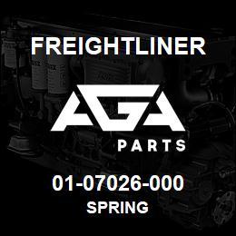 01-07026-000 Freightliner SPRING   AGA Parts