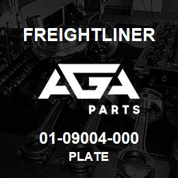 01-09004-000 Freightliner PLATE | AGA Parts
