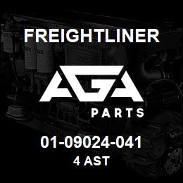 01-09024-041 Freightliner 4 AST | AGA Parts