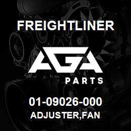 01-09026-000 Freightliner ADJUSTER,FAN | AGA Parts