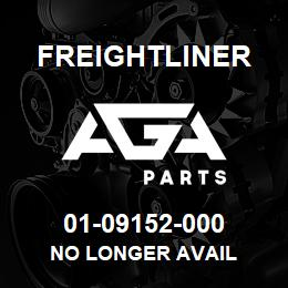 01-09152-000 Freightliner NO LONGER AVAIL | AGA Parts