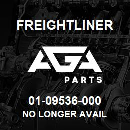 01-09536-000 Freightliner NO LONGER AVAIL | AGA Parts