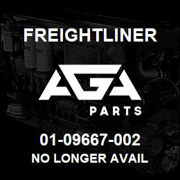 01-09667-002 Freightliner NO LONGER AVAIL | AGA Parts