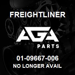 01-09667-006 Freightliner NO LONGER AVAIL | AGA Parts