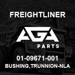 01-09671-001 Freightliner BUSHING,TRUNNION-NLA | AGA Parts
