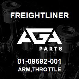 01-09692-001 Freightliner ARM,THROTTLE | AGA Parts