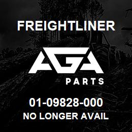 01-09828-000 Freightliner NO LONGER AVAIL | AGA Parts