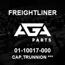01-10017-000 Freightliner CAP,TRUNNION *** | AGA Parts