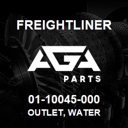 01-10045-000 Freightliner OUTLET, WATER | AGA Parts