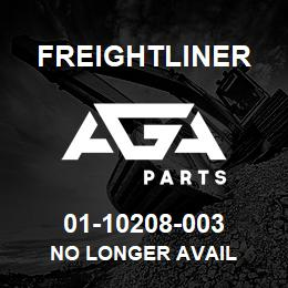 01-10208-003 Freightliner NO LONGER AVAIL | AGA Parts