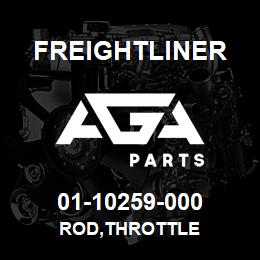 01-10259-000 Freightliner ROD,THROTTLE | AGA Parts