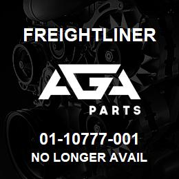 01-10777-001 Freightliner NO LONGER AVAIL | AGA Parts