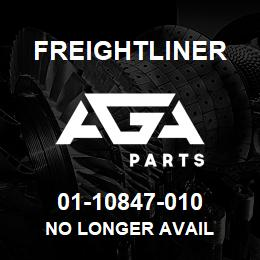 01-10847-010 Freightliner NO LONGER AVAIL | AGA Parts
