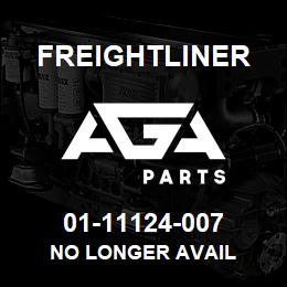 01-11124-007 Freightliner NO LONGER AVAIL | AGA Parts