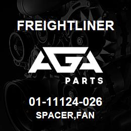 01-11124-026 Freightliner SPACER,FAN | AGA Parts