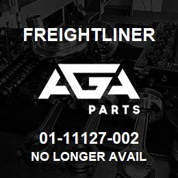 01-11127-002 Freightliner NO LONGER AVAIL | AGA Parts