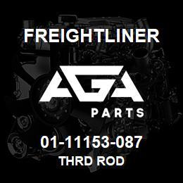 01-11153-087 Freightliner THRD ROD | AGA Parts