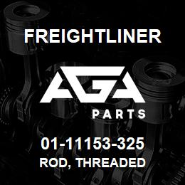 01-11153-325 Freightliner ROD, THREADED | AGA Parts