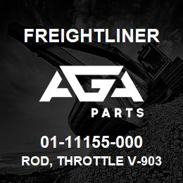 01-11155-000 Freightliner ROD, THROTTLE V-903 | AGA Parts