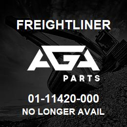 01-11420-000 Freightliner NO LONGER AVAIL | AGA Parts
