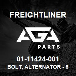 01-11424-001 Freightliner BOLT, ALTERNATOR - 65 | AGA Parts