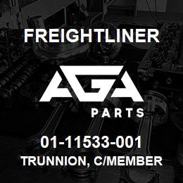 01-11533-001 Freightliner TRUNNION, C/MEMBER | AGA Parts
