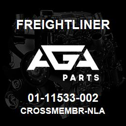 01-11533-002 Freightliner CROSSMEMBR-NLA | AGA Parts