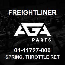 01-11727-000 Freightliner SPRING, THROTTLE RET | AGA Parts
