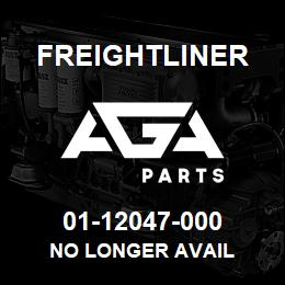 01-12047-000 Freightliner NO LONGER AVAIL | AGA Parts