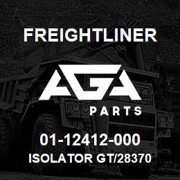 01-12412-000 Freightliner ISOLATOR GT/28370 | AGA Parts
