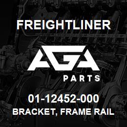 01-12452-000 Freightliner BRACKET, FRAME RAIL | AGA Parts