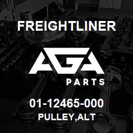 01-12465-000 Freightliner PULLEY,ALT | AGA Parts