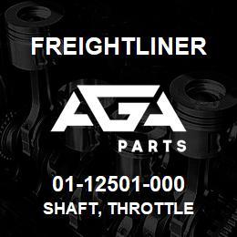 01-12501-000 Freightliner SHAFT, THROTTLE | AGA Parts