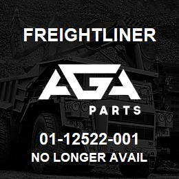 01-12522-001 Freightliner NO LONGER AVAIL | AGA Parts