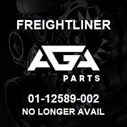 01-12589-002 Freightliner NO LONGER AVAIL | AGA Parts