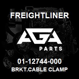 01-12744-000 Freightliner BRKT.CABLE CLAMP | AGA Parts
