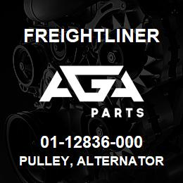 01-12836-000 Freightliner PULLEY, ALTERNATOR | AGA Parts